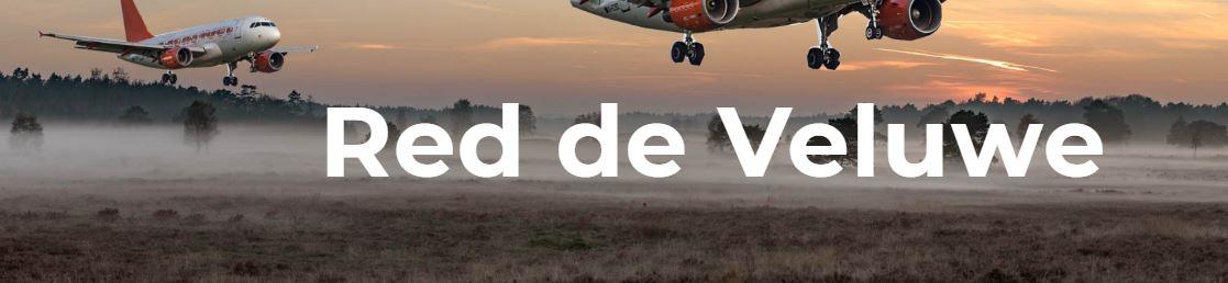 Manifestatie bij Lelystad Airport